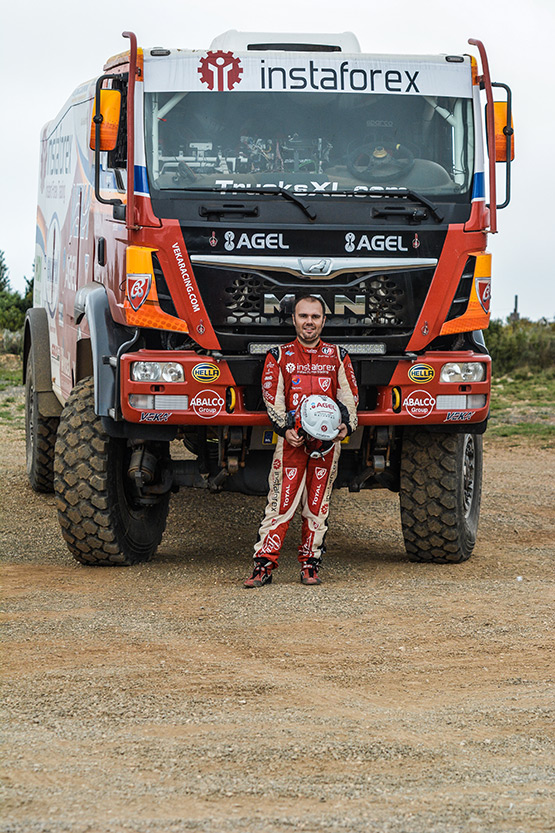 Loprais Tatra not homologated for the 2015 Dakar; will race Dutch.