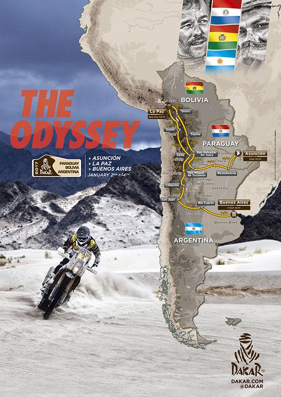 Dakar2017Route