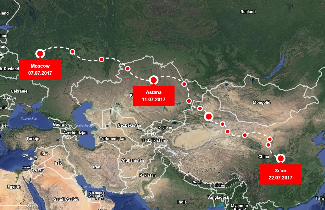SilkWay2017Route