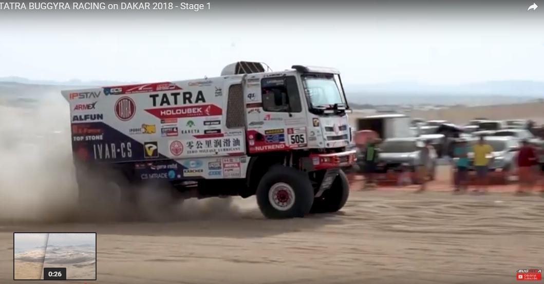 Dakar2018KolomyStage1VideoStill
