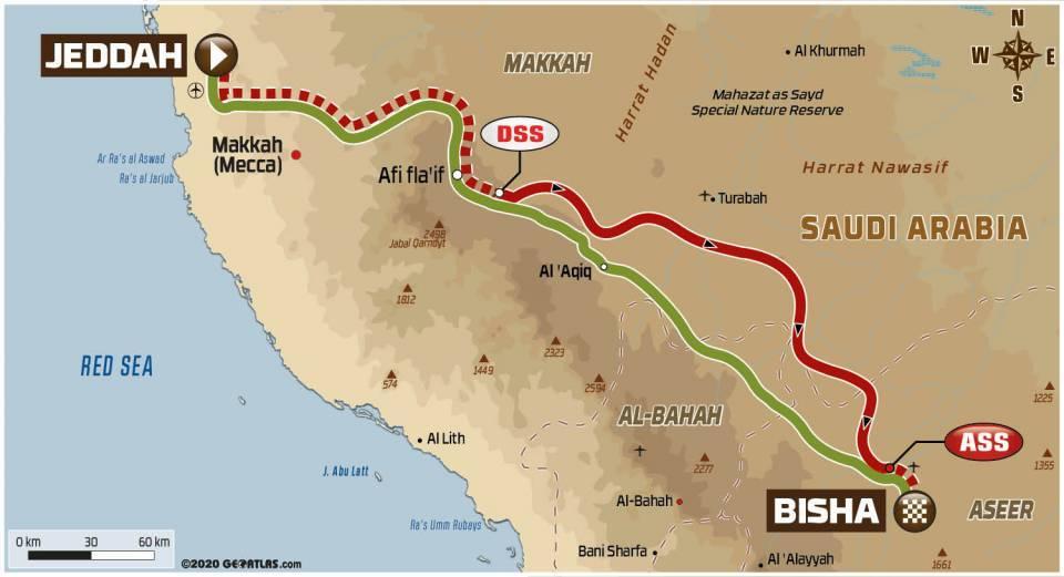 Dakar2020Stage1