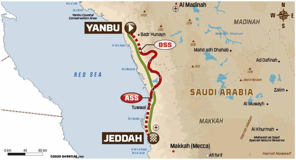 Dakar2021Stage12Map
