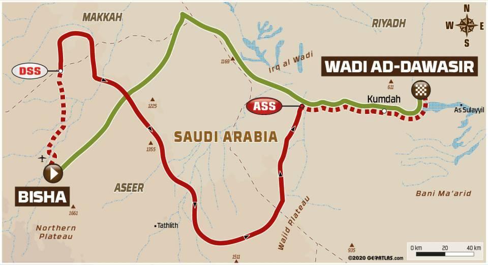 Dakar2021Stage2Map