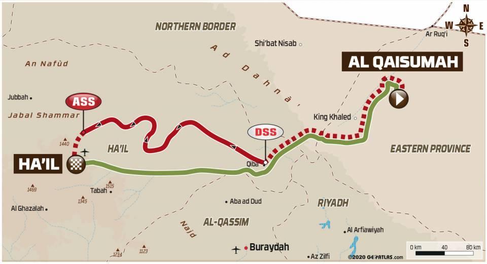 Dakar2021Stage6Map
