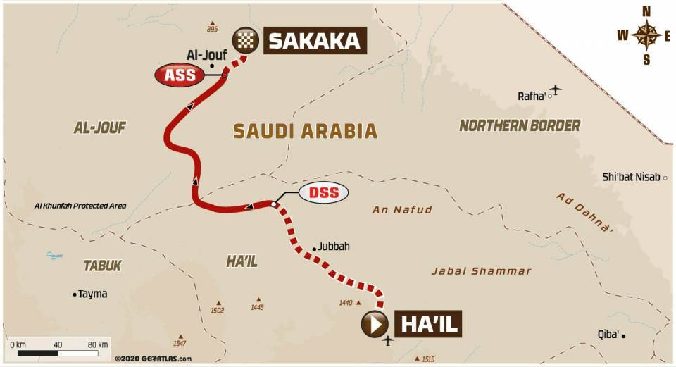 Dakar2021Stage7Map